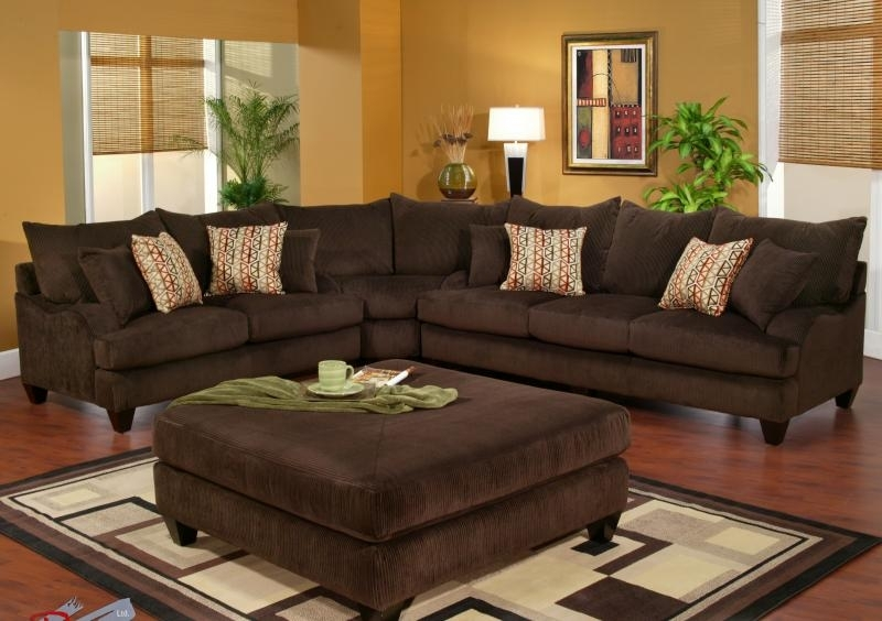 Robert Michaels Sofas And Sectionals With Regard To Chocolate Sectional Sofas (Image 8 of 10)