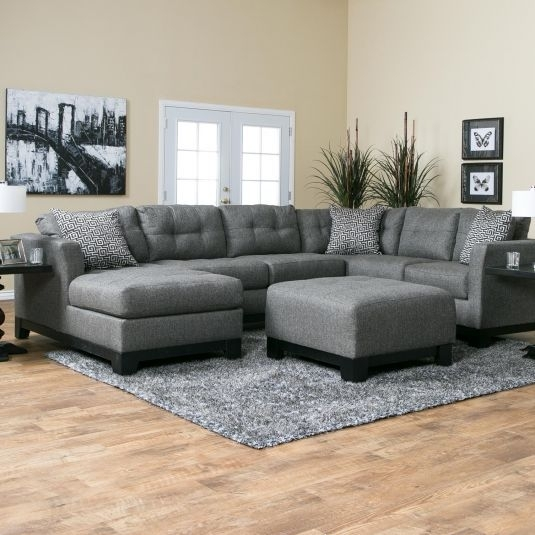Romero Living Room Sectional | Jerome's Furniture | Living Room With Regard To Jerome's Sectional Sofas (Photo 4 of 10)