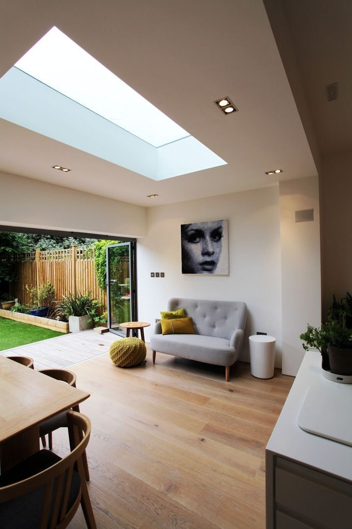 Roof Lights Work So Well In Modern Kitchen – Diner Extensions – They Intended For Sofas For Kitchen Diner (Image 9 of 10)