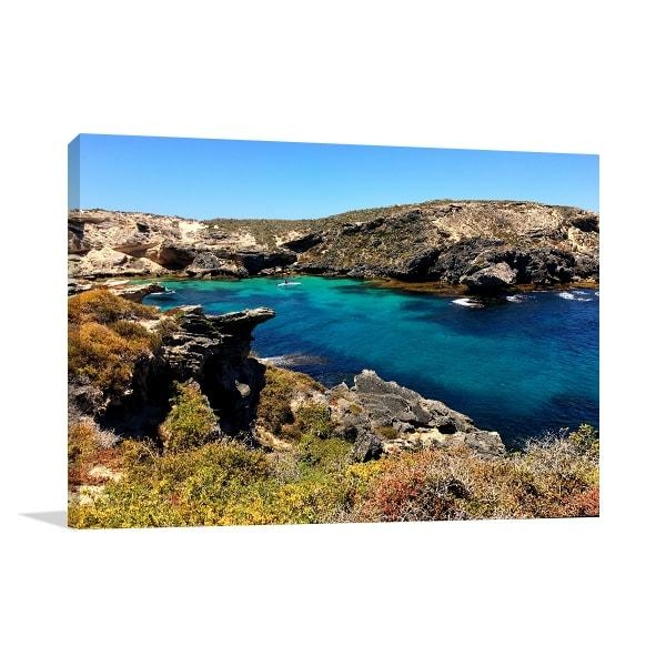 Rottnest Island Wonders Perth Art Print ‰óâ Room Decor Ideas Within Canvas Wall Art Of Perth (Image 19 of 20)