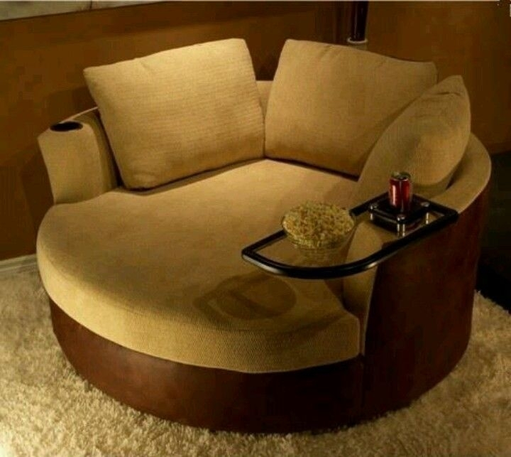 Round Loveseat Chair | Modern Chairs Design | Home Ideas | Pinterest Within Bedroom Sofas And Chairs (Image 9 of 10)