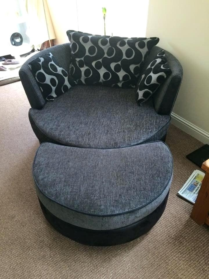 Round Sofa Chair | Adrop Within Big Sofa Chairs (Image 6 of 10)
