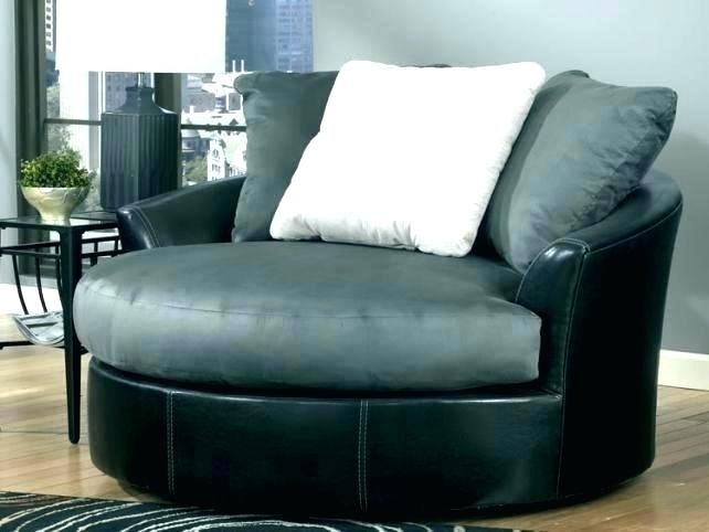 Round Swivel Chairs Spinning Sofa Chair Sofa With Swivel Chair Throughout Round Swivel Sofa Chairs (Image 7 of 10)