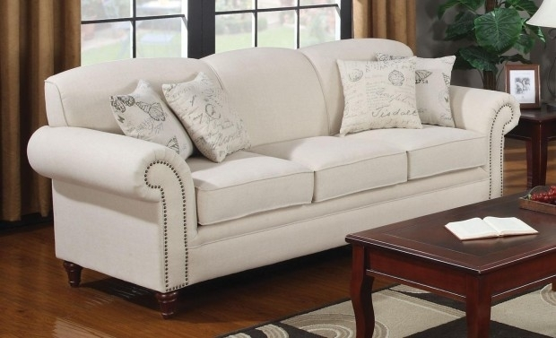 Sabina Off White Leather Sofa Set In With Regard To Prepare 12 With Regard To Off White Leather Sofas (Image 9 of 10)