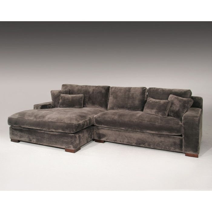 Sage Avenue Bailey Sectional & Reviews | Wayfair | New House Pertaining To Wayfair Sectional Sofas (Image 5 of 10)
