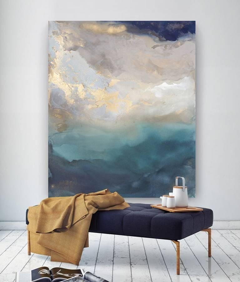 Saint Helena | From A Unique Collection Of Abstract Paintings At With Regard To Giant Abstract Wall Art (View 4 of 20)
