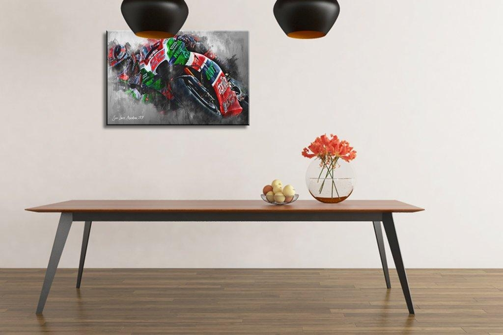 Sam Lowes | Canvas Wall Art Print | Moto Gp | Motorsport Art With Regard To Lowes Canvas Wall Art (View 2 of 20)
