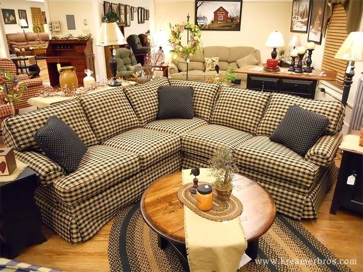 Saving Couches With Primitive Couch Covers In Country Sofas And Chairs (Image 10 of 10)