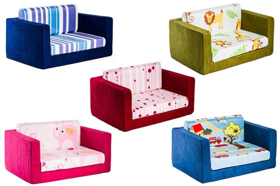 Scoopon | Kids' 2 Seater Flip Out Sofa, Delivered Regarding Flip Out Sofa For Kids (Image 10 of 10)