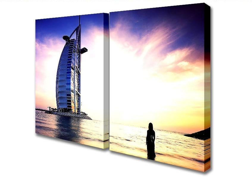 Search Dubai Canvas Within Dubai Canvas Wall Art (Image 19 of 20)