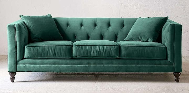 Searching For The Perfect Velvet Sofa For Velvet Sofas (Image 6 of 10)