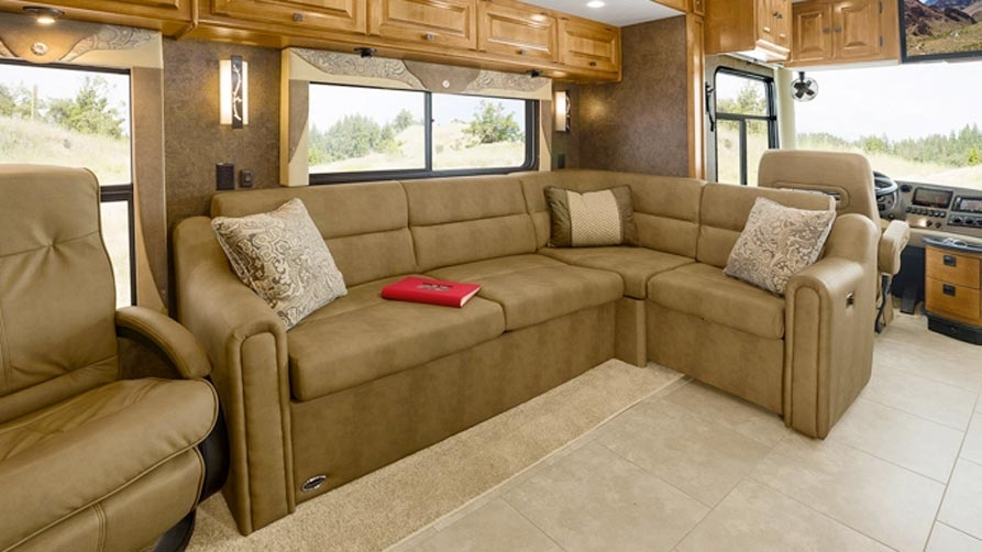 Seating Options & Upholstery Pertaining To Sectional Sofas For Campers (View 2 of 10)