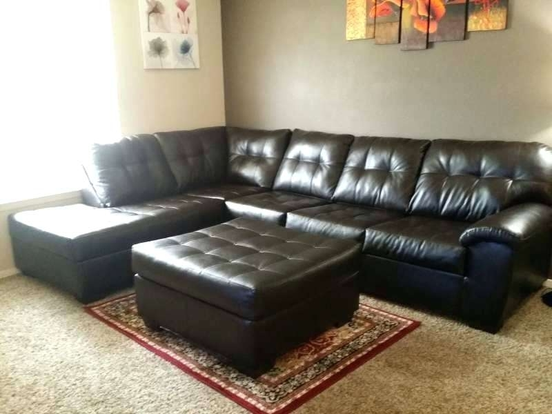 Sectional ~ 2 Piece Sectional Sofa With Ottoman Gavin 2 Piece Intended For Lubbock Sectional Sofas (Image 8 of 10)