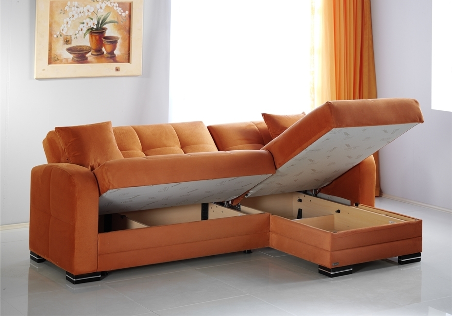 Sectional Couch With Storage Best Sofas And Couches For Small Spaces With Regard To Sectional Sofas With Storage (View 9 of 10)