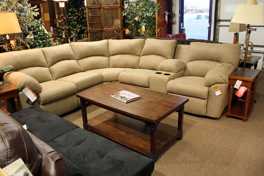 Sectional Recliner Sofa With Cup Holders – My Delicate Dots Portofolio Inside Sectional Sofas With Cup Holders (View 3 of 10)