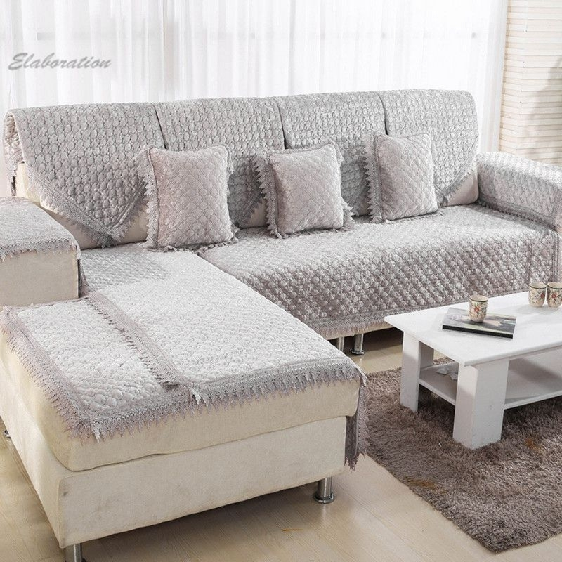 Sectional Slipcovers Target — Radionigerialagos Intended For 3 Piece Sectional Sofa Slipcovers (Image 8 of 10)