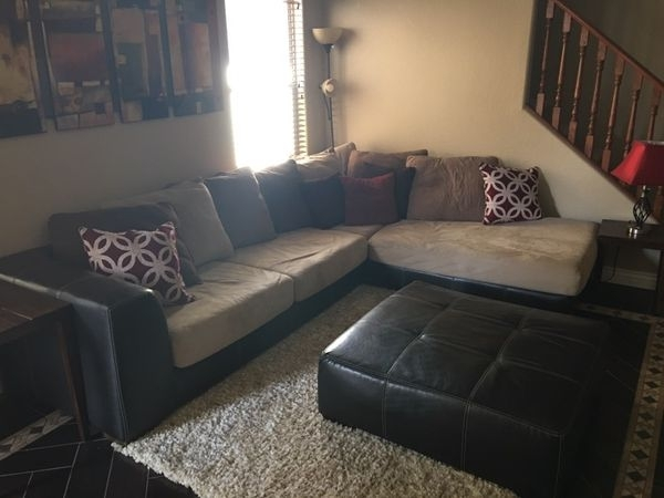 Sectional Sofa + Chair (Furniture) In Gilbert, Az – Offerup For Gilbert Az Sectional Sofas (Image 9 of 10)