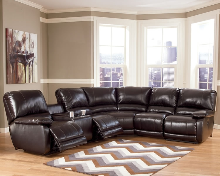 Sectional Sofa Design: Amazing Leather Sectional Sofa Recliner Throughout Sectional Sofas With Recliners Leather (Image 4 of 10)
