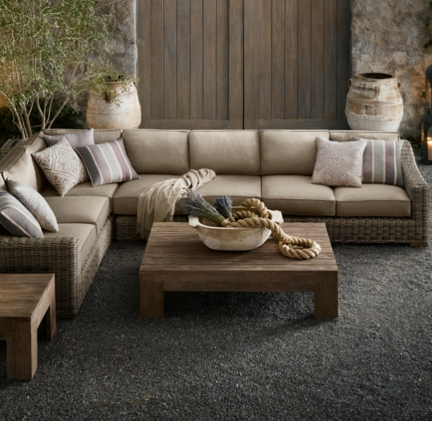 Sectional Sofa Design: Amazing Restoration Hardware Sectional Sofa Within Restoration Hardware Sectional Sofas (Image 7 of 10)