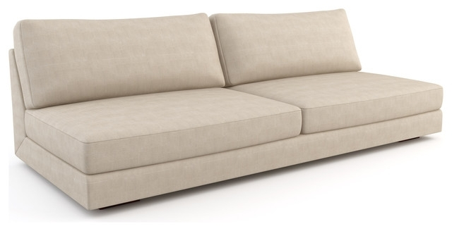 Sectional Sofa Design: Armless Sectional Sofa Covers Small Spaces With Regard To Armless Sectional Sofas (Image 10 of 10)