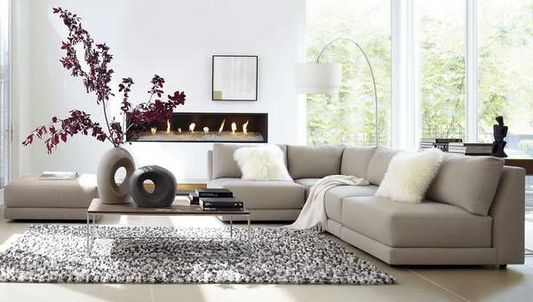 Sectional Sofa Design: Beatiful Sectional Sofa For Small Space Sofa With Sectional Sofas In Small Spaces (Image 5 of 10)