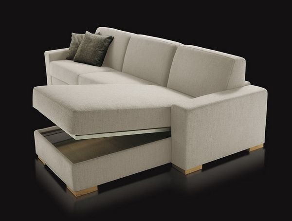 Sectional Sofa Design: Best Choice Sectional Sofas With Storage Pertaining To Sectional Sofas With Storage (Image 8 of 10)