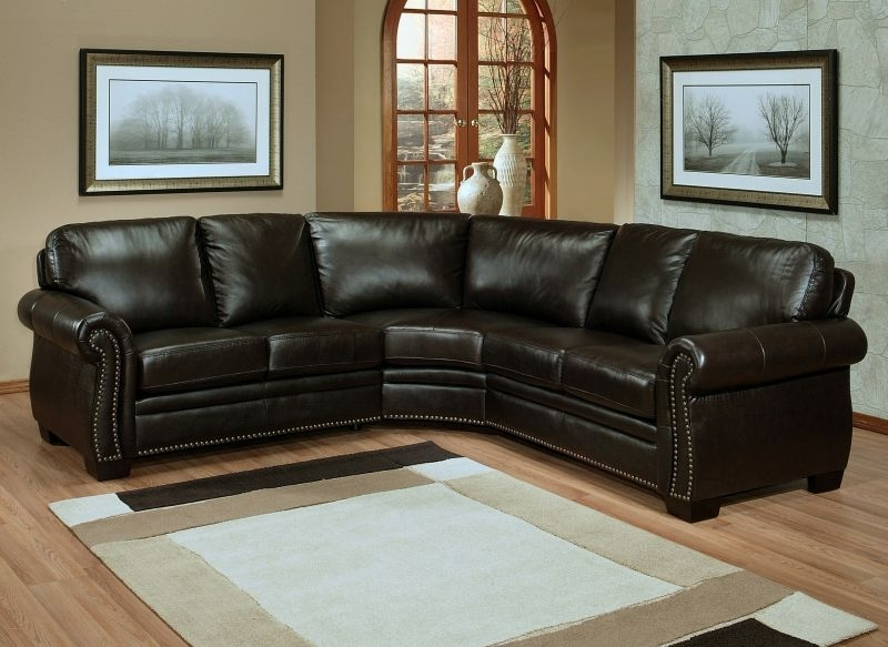 Sectional Sofa Design: Best Italian Leather Sectional Sofas Italian In Quality Sectional Sofas (Image 7 of 10)