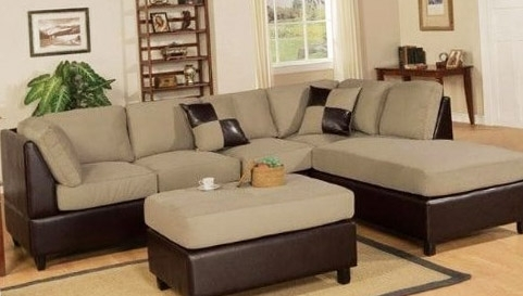 Sectional Sofa Design: Best Sectional Sofas With Ottoman Design Intended For Sofas With Ottoman (Image 9 of 10)