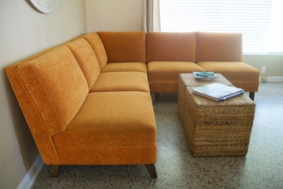 Sectional Sofa Design: Best Vintage Sectional Sofa Ever Vintage With Vintage Sectional Sofas (Image 6 of 10)