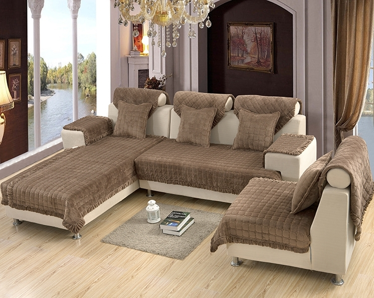 Sectional Sofa Design: Decorative Covers For Sectional Sofas Sofa Intended For Sectional Sofas With Covers (Image 5 of 10)