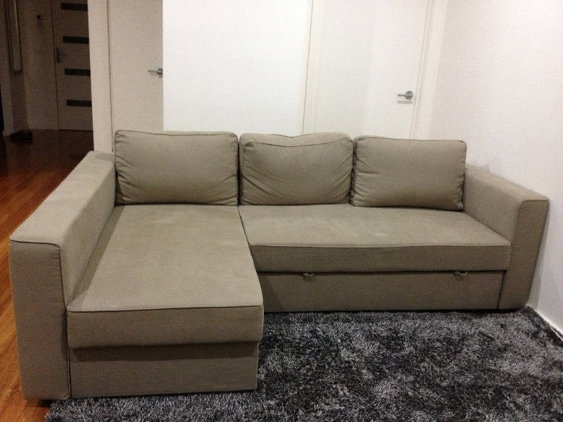 Sectional Sofa Design: Elegant L Shaped Sectional Sleeper Sofa In L Shaped Sectional Sofas (Image 8 of 10)