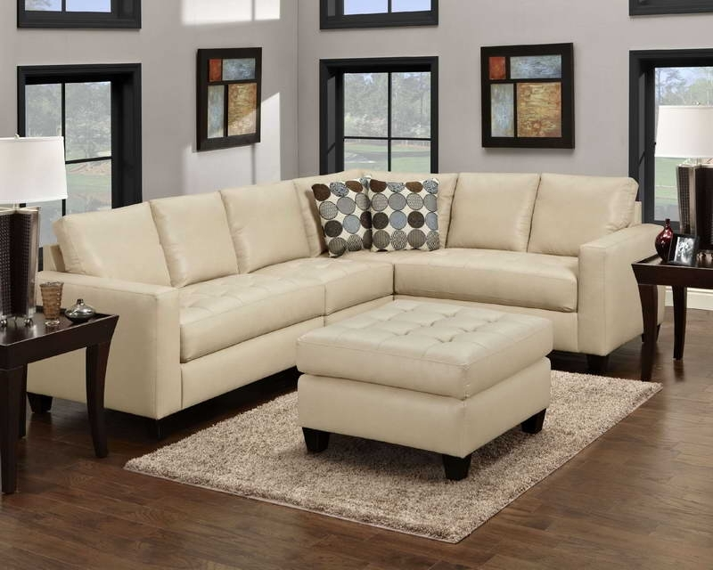 Sectional Sofa Design: Elegant Sectional Sofas For Small Rooms For Small Spaces Sectional Sofas (Image 7 of 10)