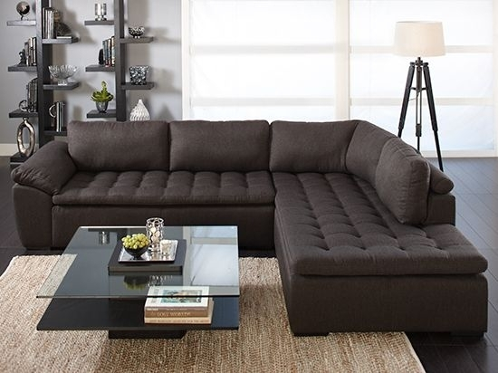 Sectional Sofa Design: Free Pict Deep Seat Sectional Sofa Deep Seat Throughout Deep Seating Sectional Sofas (Image 9 of 10)