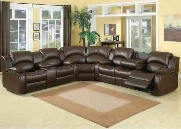 Sectional Sofa Design: Home Theater Sectional Sofa Couch Bed Sleeper With Regard To Theatre Sectional Sofas (Image 8 of 10)