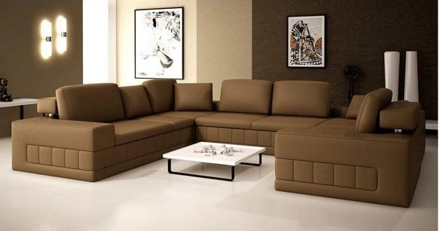 Sectional Sofa Design: Ideas Extra Large Sectional Sofas Best Ever Regarding Extra Large U Shaped Sectionals (Image 6 of 10)