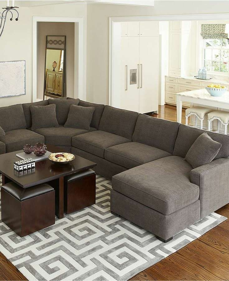 Sectional Sofa Design: L Shaped Sectional Sofa Chaise Covers For L Shaped Sectional Sofas (Image 9 of 10)