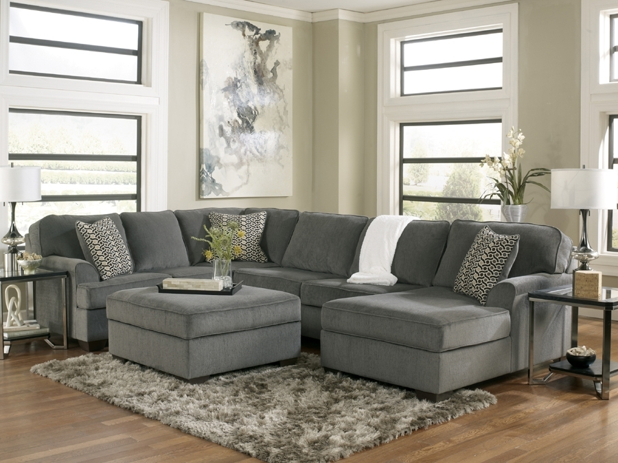 Sectional Sofa Design: Modern Sectional Sofa Ashley Sectional Pertaining To Home Furniture Sectional Sofas (Image 9 of 10)