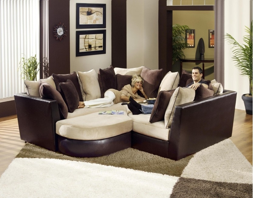 Sectional Sofa Design: Most Comfy Sectional Sofa Best Ever Super For Comfortable Sectional Sofas (Image 9 of 10)