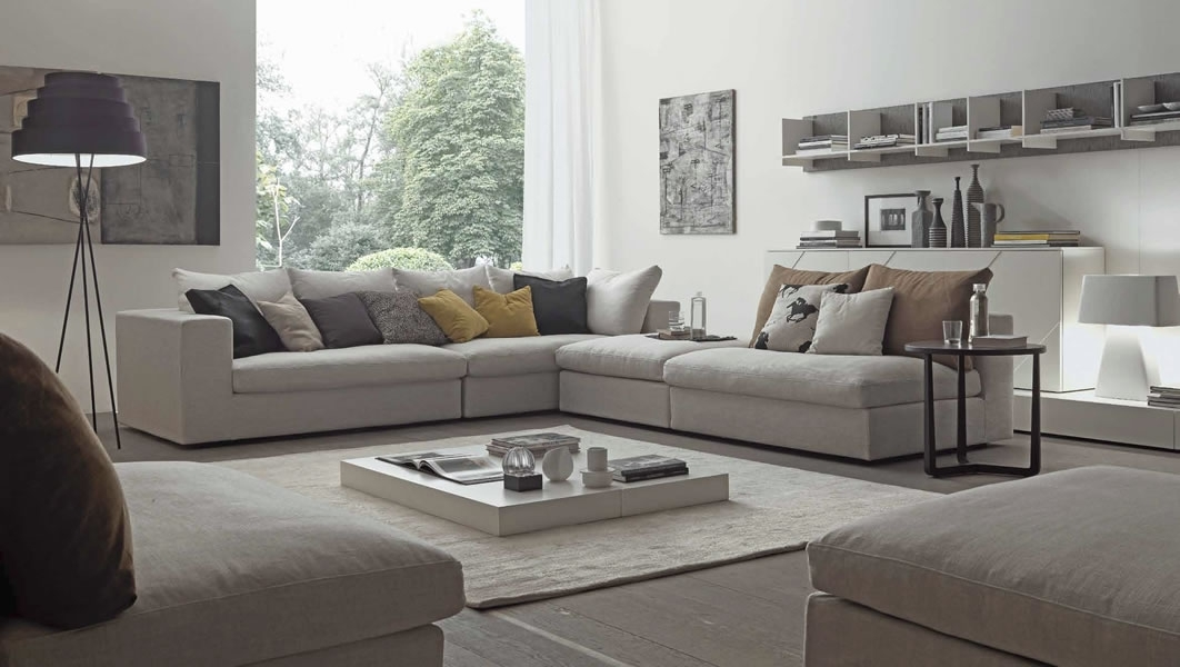 Sectional Sofa Design: Most High Class Wide Sectional Sofas Wide With Wide Sectional Sofas (Image 8 of 10)