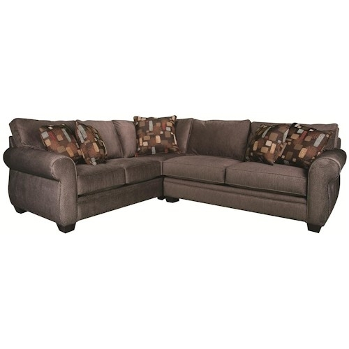 Sectional Sofa Design: Sample Sectional Sofas Cincinnati Morris In Dayton Ohio Sectional Sofas (Image 6 of 10)