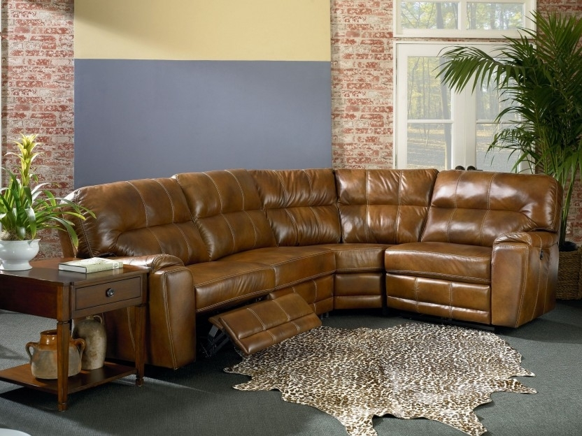 Sectional Sofa Design: Sectional Sofa Recliners Small Spaces Repair Pertaining To Sectional Sofas With Recliners Leather (Image 5 of 10)