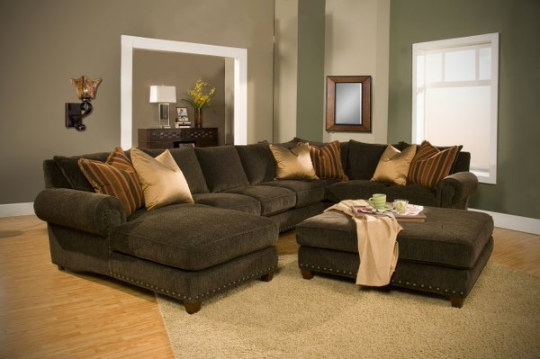 Sectional Sofa Design: Simple Down Sectional Sofa Down Blend With Down Filled Sectional Sofas (Image 7 of 10)