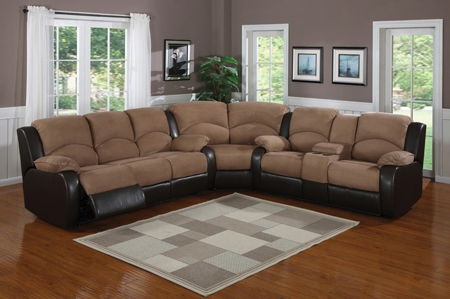 Sectional Sofa Design: Suede Sectional Sofas Best Ever Grey Suede Inside Leather And Suede Sectional Sofas (Image 6 of 10)