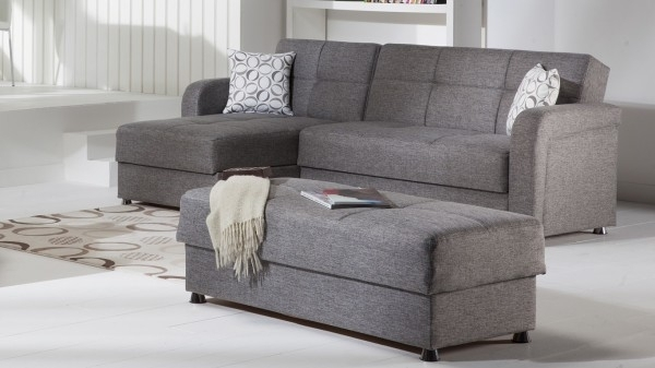 Sectional Sofa Design: Wonderful Sectional Sleeper Sofa With Chaise Within Sectional Sleeper Sofas With Ottoman (Image 9 of 10)