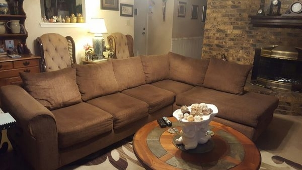 Sectional Sofa (Furniture) In Lubbock, Tx – Offerup Pertaining To Lubbock Sectional Sofas (Image 9 of 10)