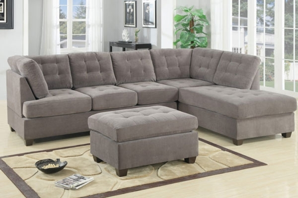 Sectional Sofa: Great Tufted Sectional Sofa With Chaise 2017 Tuft Pertaining To Tufted Sectional Sofas With Chaise (View 6 of 10)