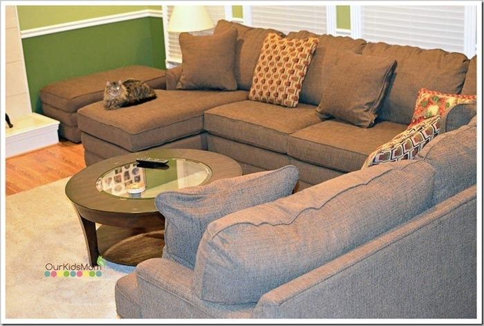 Sectional Sofa: Lazyboy Sectional Sofas La Z Boy Sectional Sofa Pertaining To La Z Boy Sectional Sofas (Image 9 of 10)