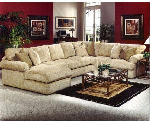 Sectional Sofa: Magnificent Down Filled Sectional Sofa Down Filled With Regard To Goose Down Sectional Sofas (Photo 8 of 10)