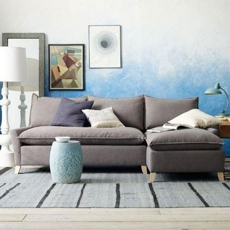 Sectional Sofa: Magnificent Down Filled Sectional Sofa Down Stuffed Pertaining To Down Filled Sofas (Image 7 of 10)