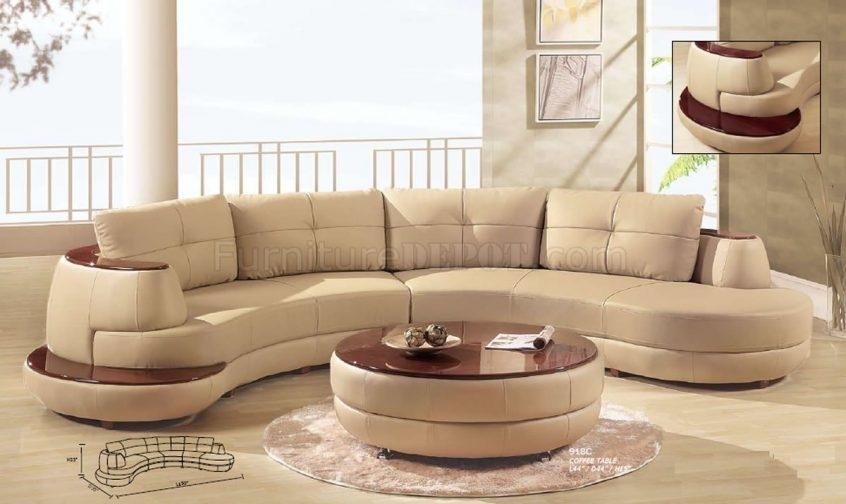 Sectional Sofa: Modern Sectional Sofas For Small Spaces (View 7 of 10)